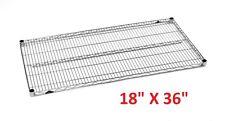 "Metro 18"" X 36"" Super Erecta Heavy-Duty Adjustable Wire Shelving *Xlnt*"
