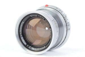 Ernst Leitz GmbH Wetzlar Summicron 5cm f/2 Collapsible Lens for Leica M  #P3269