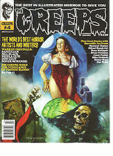 THE CREEPS  A WARRANT MAGAZINE # 4  WINTER, 2015 /16 ( THE WORLD'S BEST HORROR