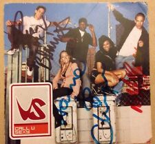 Vs Call U Sexy Fully Signed Book CD Single Music Autograph Marvin Humes