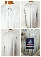 Men's Johnnie-O Checked Plaid Multicolor Large Long Sleeve Shirt