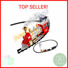 Classic Train Set for Kids with Smoke, Realistic Sounds, 3 Cars and 11 Feet …