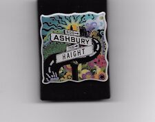ASHBURY HAIGHT LAPEL PIN BUTTON-- COMES IN OWN CASE