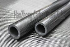 2pcs 10mm OD x 6mm ID x 500mm Carbon Fiber Tube Tubing Glossy Roll Wrapped US