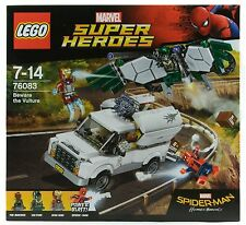 LEGO Marvel Super Heroes BEWARE THE VULTURE Spider-Man Set 76083 2017 Shocker