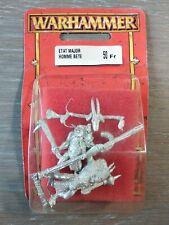Etat Major Homme Bete Blister Warhammer Battle Aos Neuf 1997 OOP