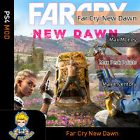 Far Cry: New Dawn(PS4 Mod)-Max Money/Perk Points/Inventory