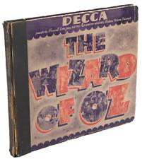 Harold ARLEN (Composer): Signed WIZARD OF OZ Record Set