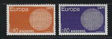 1970 Andorra (Fr) Scott #196-197 - EUROPA Set of 2 Stamps - MNH