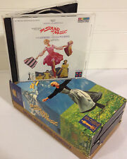 The Sound of Music Soundtrack Lot / Golden Anniversary VHS/bonus Cassette & CD