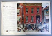 10x14 Original 1953 Ford Ad No 16 In The American Road Series by Norman Rockwell