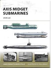 Osprey Vanguard Axis Midget Submarines 1939-45, Van 212 Softcover Reference St