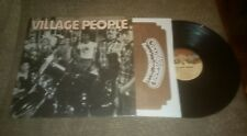 The Village People S/T Original 1977 Soul /Funk Disco Lp in Shrink Vg+ record