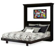 Murphy King Vertical Wall Bed Woodworking Plans With Hardware Kit List, 1KVWB