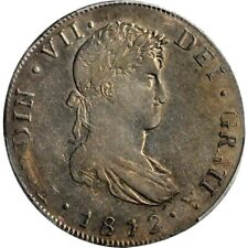 1812 NG M Guatemala 8 Reales, PCGS XF 45, KM 69, Scarce, Only Graded Ex @ PCGS