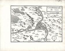 Antique maps, Gouvernement de Lion