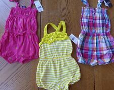 Chaps New 18 month Girl Romper LOT $90 retail Outfit 1-piece NWT Summer clothes