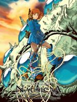 Joshua Budich - Nausicaa of The Valley of the Wind (Spoke Art) Miyazaki Print