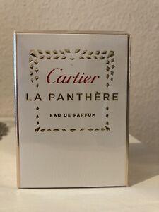 Cartier LA PANTHERE Eau De Parfum 50 ml NEU und Ungeöffnet!