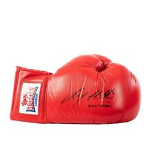 Ricky Hatton Signed Boxing Glove - Red Lonsdale Autograph