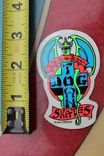 Dogtown Skateboards Original Red Dog 1978 DTS Bulldog Art Skateboarding STICKER