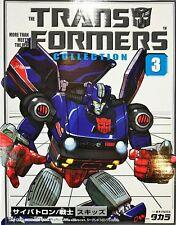 Transformers G1 Skidz TF Collection Takara Book Reissue #3 Sealed Complete Mint