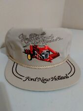 Vintage Ford New Holland Machine Co Adjustable Baseball Cap USA