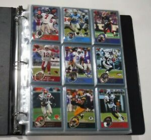 2003 Topps Football NEAR Complete Set (383/385) w/ 3 checklists *A. Johnson RC