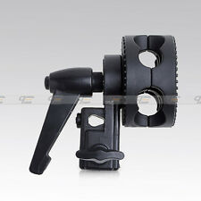 New quality Universal wheel Light Stand Grip Clamp