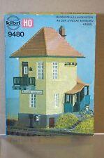KIBRI 9480 HO SCALE BLOCKSTELLE LANGENSTEIN SIGNAL BOX MODEL KIT NEW mc
