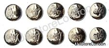 Military Buttons,Royal Artillery,Gold,Size19mm R170