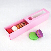 Macaron Box - for 6 Macarons - Pack of 25 sets