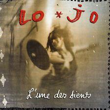 LO'JO L'une des Siens (CD 2002) 12 Songs Digipak French Pop Chanson Album