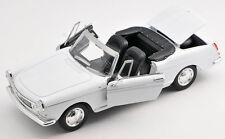 BLITZ VERSAND Peugeot 404 Cabrio Cabriolet weiss 1:24 Welly Modell Auto NEU OVP