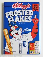 Detroit Tigers FRIDGE MAGNET (2 x 3 inches) frosted flakes cereal box baseball