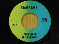The Ramrods soul 45 Soultrain bw Soultrain Rampage