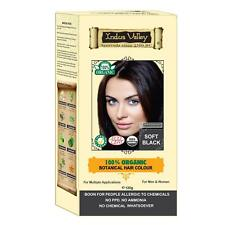 New Indus Valley 100% Botanical Soft Black & Certified Organic Hair Colour FS
