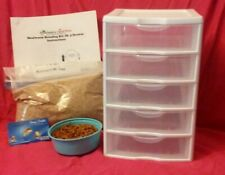 5 Drawer Mealworm Breeding Kit (We were the 1st to ever sell these, Since 2012)