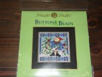 MILL HILL Buttons & Beads Counted Cross Stitch Kit - MH14-5303 Mr. Jack Frost