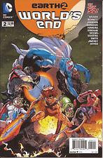 Earth 2 Worlds End #2 DC Huntress Power Girl Apokolips Superman Red Tornado VF