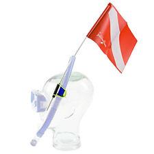 Trident Snorkeler's Snorkel Attached Dive Flag
