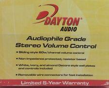 Dayton  Audio audiophile Grade Stereo Volume Control