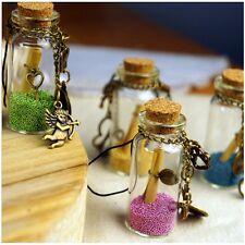 20x Mini Glasflasche leer Behälter Glasfläschchen + Korken Glas Flaschen 22x11mm