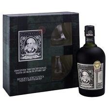 Confezione Regalo Rum DIPLOMATICO RESERVA EXCLUSIVA CL 70 Rhum + 2 BICCHIERI Ron