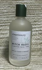 New listing New Clean Beauty Witch Hazel Clarifying Facial Toner W/ Apple Cider Vinegar 8 oz