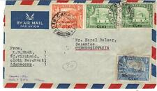 Aden 1961 Six Camp Cds Attache 12 Timbres De King George VI Editions To Czechosl