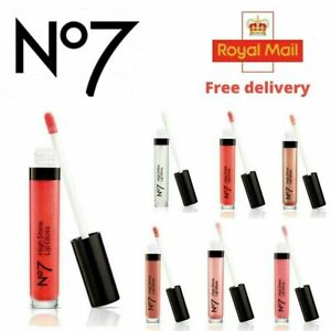 No 7 High Shine Lip Gloss 8ml Pink Slip Full Size New & Sealed