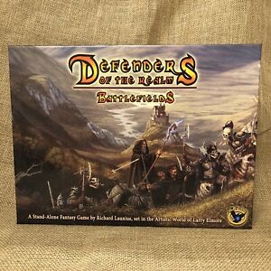 Defenders of the Realm Battlefields Complete Eagle Games Fantasy Card