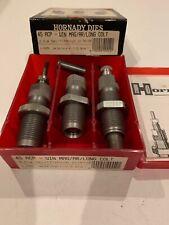 Hornady Three Die Titanium Nitride Die Set for 45 ACP/Win Mag/AR/Long Colt