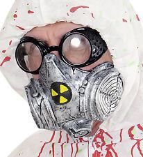 GAS MASK FANCY DRESS ACCESSORY TOXIC ZOMBIE HALLOWEEN PROP